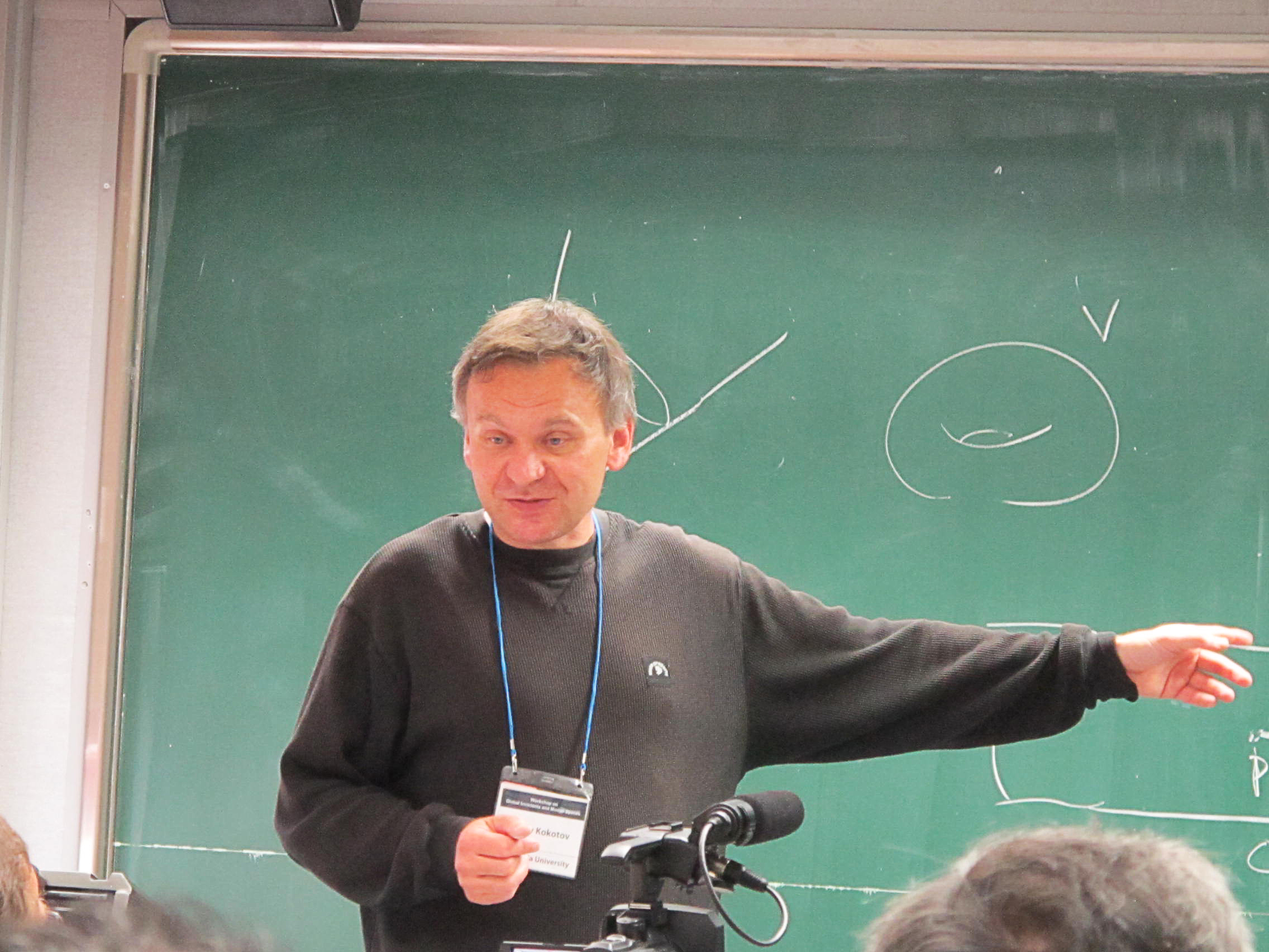 Workshop on Global invariants and Moduli Spaces